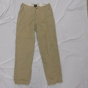 RL Polo Jeans Co. Chino 31x34 EUC Khaki